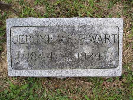 STEWART, JEROME V. - Union County, Ohio | JEROME V. STEWART - Ohio Gravestone Photos