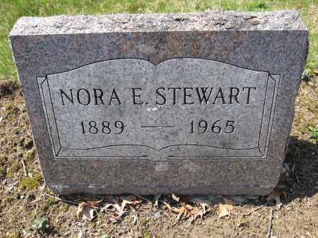 STEWART, NORA E. - Union County, Ohio | NORA E. STEWART - Ohio Gravestone Photos
