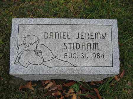 STIDHAM, DANIEL JEREMY - Union County, Ohio | DANIEL JEREMY STIDHAM - Ohio Gravestone Photos
