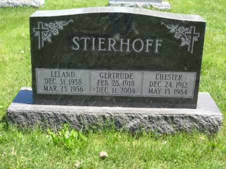 STIERHOFF, GERTRUDE - Union County, Ohio | GERTRUDE STIERHOFF - Ohio Gravestone Photos