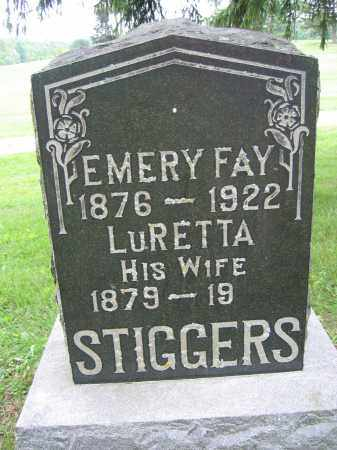 STIGGERS, LURETTA - Union County, Ohio | LURETTA STIGGERS - Ohio Gravestone Photos