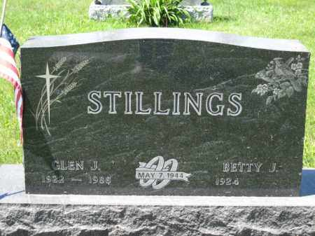STILLINGS, GLEN J. - Union County, Ohio | GLEN J. STILLINGS - Ohio Gravestone Photos