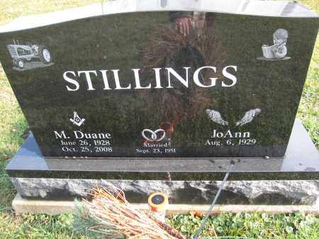 STILLINGS, JOANN - Union County, Ohio | JOANN STILLINGS - Ohio Gravestone Photos