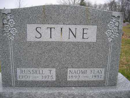 STINE, NAOMI FLAY - Union County, Ohio | NAOMI FLAY STINE - Ohio Gravestone Photos