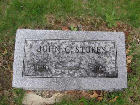 STOKES, JOHN C. - Union County, Ohio | JOHN C. STOKES - Ohio Gravestone Photos