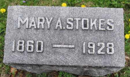 STOKES, MARY A. - Union County, Ohio | MARY A. STOKES - Ohio Gravestone Photos