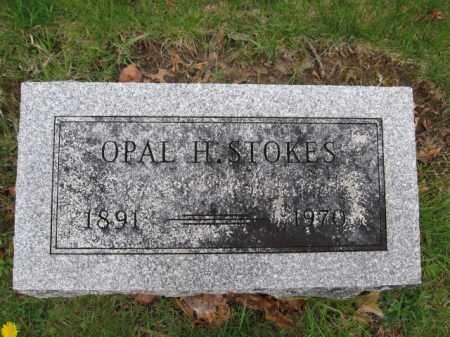 STOKES, OPAL H. - Union County, Ohio | OPAL H. STOKES - Ohio Gravestone Photos