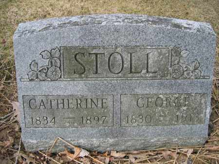 STOLL, CATHERINE - Union County, Ohio | CATHERINE STOLL - Ohio Gravestone Photos