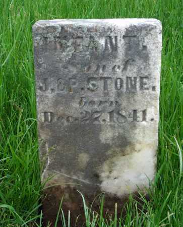 STONE, INFANT - Union County, Ohio | INFANT STONE - Ohio Gravestone Photos