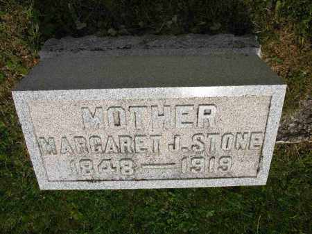 STONE, MARGARET J. - Union County, Ohio | MARGARET J. STONE - Ohio Gravestone Photos
