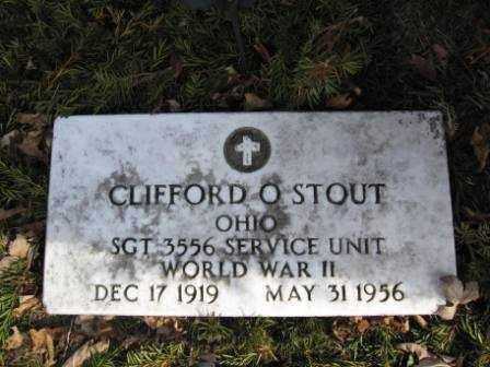 STOUT, CLIFFORD O. - Union County, Ohio | CLIFFORD O. STOUT - Ohio Gravestone Photos