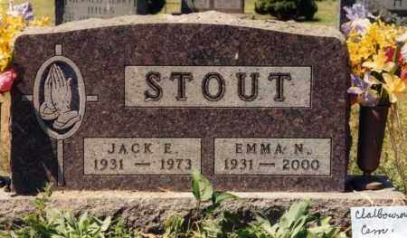 STOUT, JACK ELWOOD - Union County, Ohio | JACK ELWOOD STOUT - Ohio Gravestone Photos