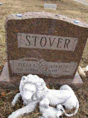 STOVER, PEGGY A. - Union County, Ohio | PEGGY A. STOVER - Ohio Gravestone Photos