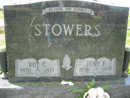 STOWERS, ROY CLARENCE - Union County, Ohio | ROY CLARENCE STOWERS - Ohio Gravestone Photos