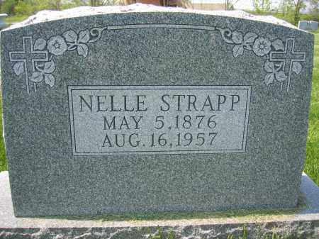 STRAPP, NELLE - Union County, Ohio | NELLE STRAPP - Ohio Gravestone Photos