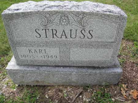 STRAUSS, KARL - Union County, Ohio | KARL STRAUSS - Ohio Gravestone Photos
