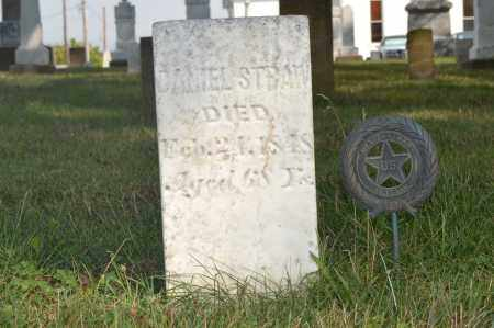 STRAW, DANIEL - Union County, Ohio | DANIEL STRAW - Ohio Gravestone Photos