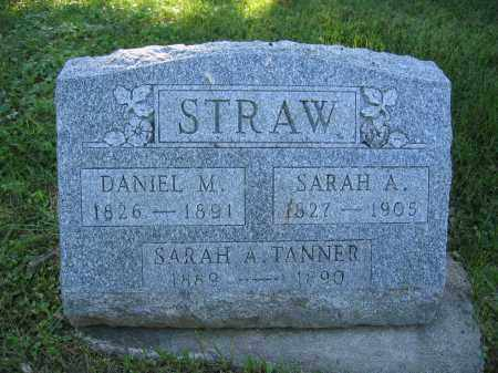 STRAW, SARAH A. - Union County, Ohio | SARAH A. STRAW - Ohio Gravestone Photos