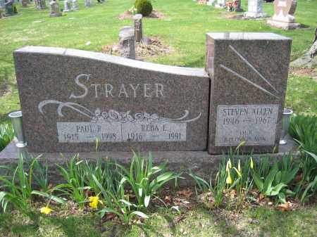 STRAYER, PAUL R. - Union County, Ohio | PAUL R. STRAYER - Ohio Gravestone Photos