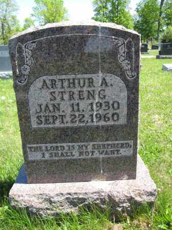 STRENG, ARTHUR A. - Union County, Ohio | ARTHUR A. STRENG - Ohio Gravestone Photos
