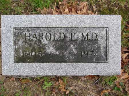 STRICKER, HAROLD E. - Union County, Ohio   HAROLD E. STRICKER - Ohio Gravestone Photos