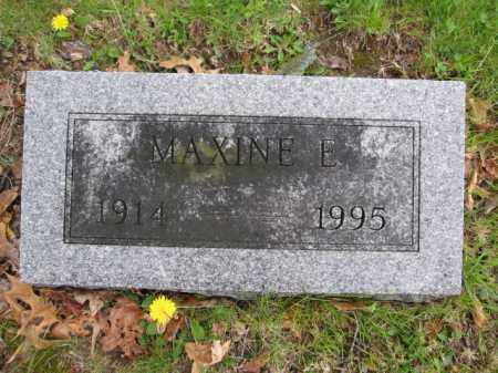 STRICKER, MXINE E. - Union County, Ohio | MXINE E. STRICKER - Ohio Gravestone Photos