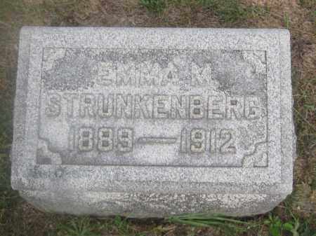 STRUNKENBERG, EMMA M. - Union County, Ohio | EMMA M. STRUNKENBERG - Ohio Gravestone Photos