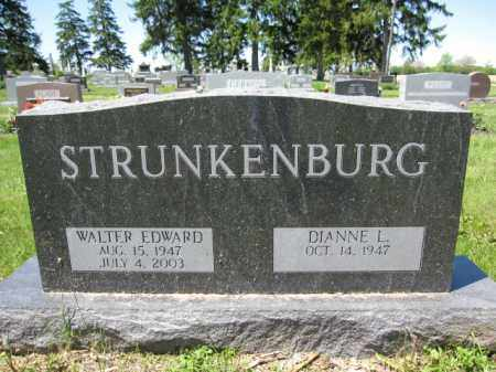 STRUNKENBURG, WALTER EDWARD - Union County, Ohio | WALTER EDWARD STRUNKENBURG - Ohio Gravestone Photos