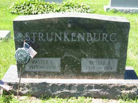 STRUNKENBURG, ROSINA B. - Union County, Ohio | ROSINA B. STRUNKENBURG - Ohio Gravestone Photos