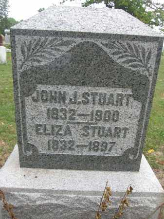 STUART, ELIZA - Union County, Ohio | ELIZA STUART - Ohio Gravestone Photos