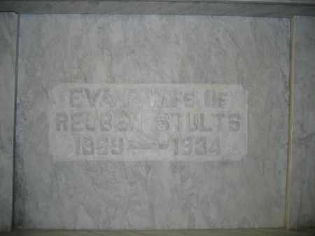 STULTS, EVA F. - Union County, Ohio | EVA F. STULTS - Ohio Gravestone Photos