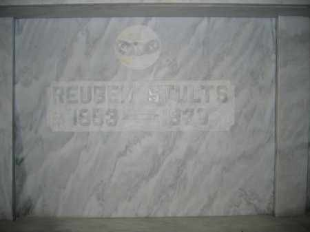 STULTS, REUBEN - Union County, Ohio | REUBEN STULTS - Ohio Gravestone Photos