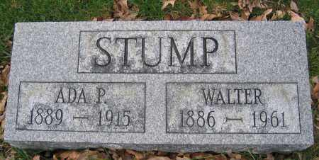 STUMP, WALTER - Union County, Ohio | WALTER STUMP - Ohio Gravestone Photos