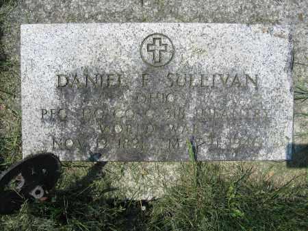 SULLIVAN, DANIEL F. - Union County, Ohio | DANIEL F. SULLIVAN - Ohio Gravestone Photos