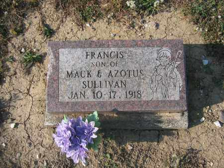 SULLIVAN, FRANCIS - Union County, Ohio | FRANCIS SULLIVAN - Ohio Gravestone Photos