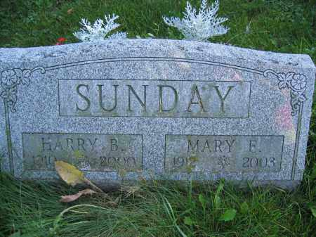 SUNDAY, HARY B. - Union County, Ohio | HARY B. SUNDAY - Ohio Gravestone Photos