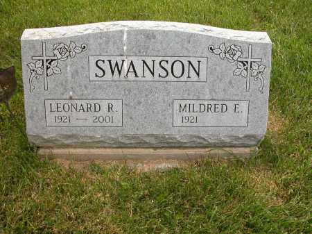SWANSON, MILDRED E. - Union County, Ohio | MILDRED E. SWANSON - Ohio Gravestone Photos
