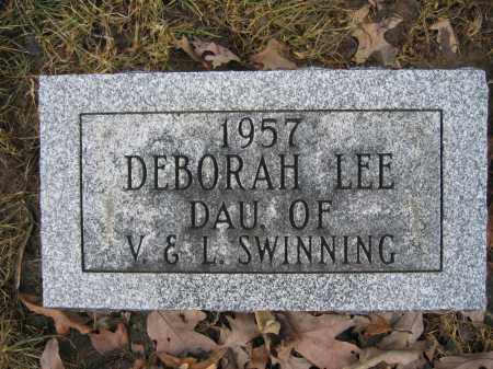 SWINNING, DEBORAH LEE - Union County, Ohio | DEBORAH LEE SWINNING - Ohio Gravestone Photos