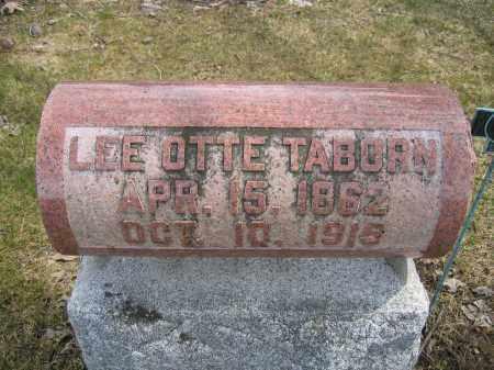 TABORN, LEE OTTE - Union County, Ohio | LEE OTTE TABORN - Ohio Gravestone Photos