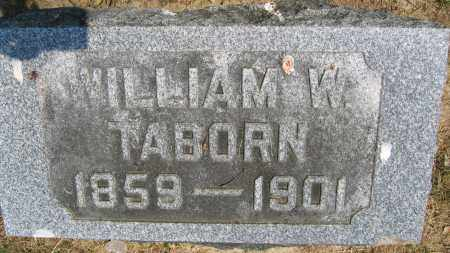 TABORN, WILLIAM W. - Union County, Ohio | WILLIAM W. TABORN - Ohio Gravestone Photos