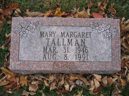 TALLMAN, MARY MARGARET - Union County, Ohio | MARY MARGARET TALLMAN - Ohio Gravestone Photos