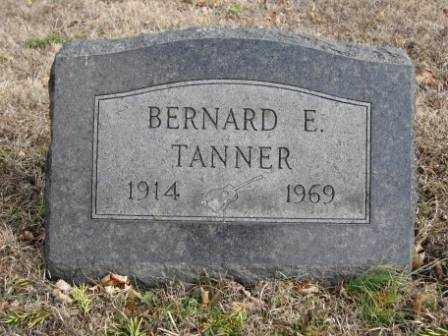 TANNER, BERNARD E. - Union County, Ohio | BERNARD E. TANNER - Ohio Gravestone Photos