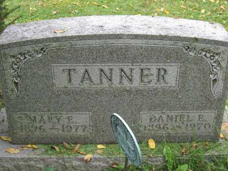 TANNER, MARY E. - Union County, Ohio | MARY E. TANNER - Ohio Gravestone Photos