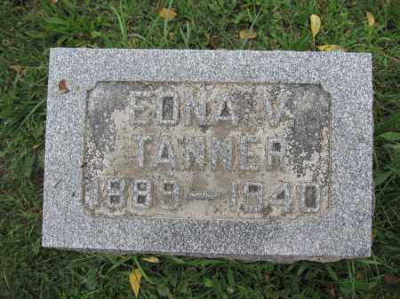 TANNER, EDNA V. - Union County, Ohio | EDNA V. TANNER - Ohio Gravestone Photos