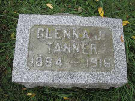 TANNER, GLENNA J. - Union County, Ohio | GLENNA J. TANNER - Ohio Gravestone Photos