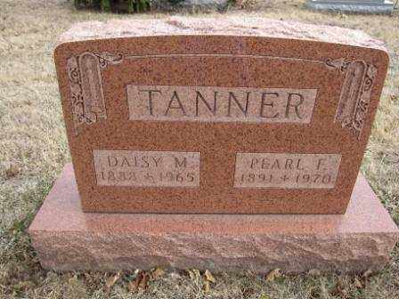 TANNER, DAISY M. - Union County, Ohio | DAISY M. TANNER - Ohio Gravestone Photos