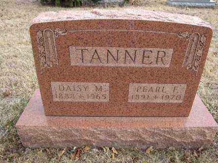TANNER, DAISY M. - Union County, Ohio | DAISY M. TANNER - Ohio Gravestone Photos