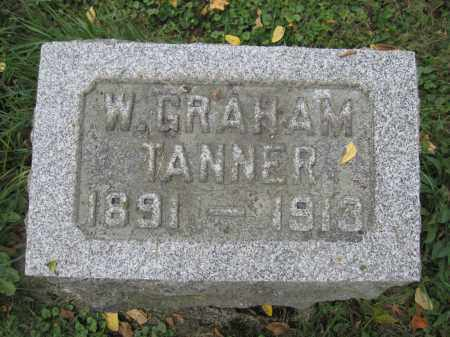 TANNER, W. GRAHAM - Union County, Ohio | W. GRAHAM TANNER - Ohio Gravestone Photos
