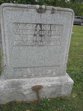 TANNER, WILLIAM E. - Union County, Ohio | WILLIAM E. TANNER - Ohio Gravestone Photos