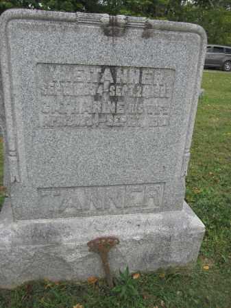 TANNER, CATHARINE - Union County, Ohio | CATHARINE TANNER - Ohio Gravestone Photos